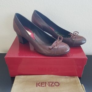Vintage Kenzo Oxford Bow Heels